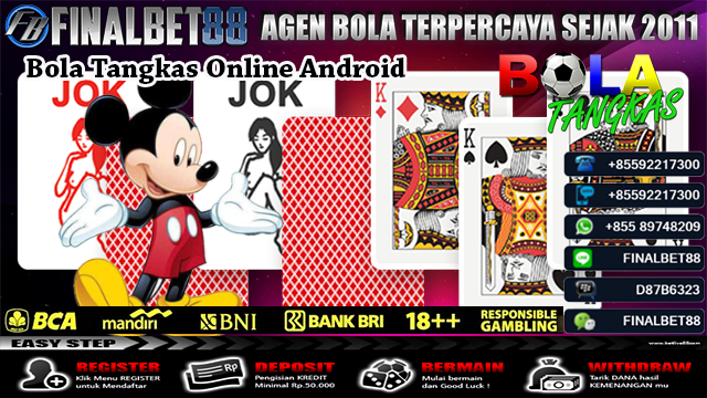 Bola Tangkas Online Android